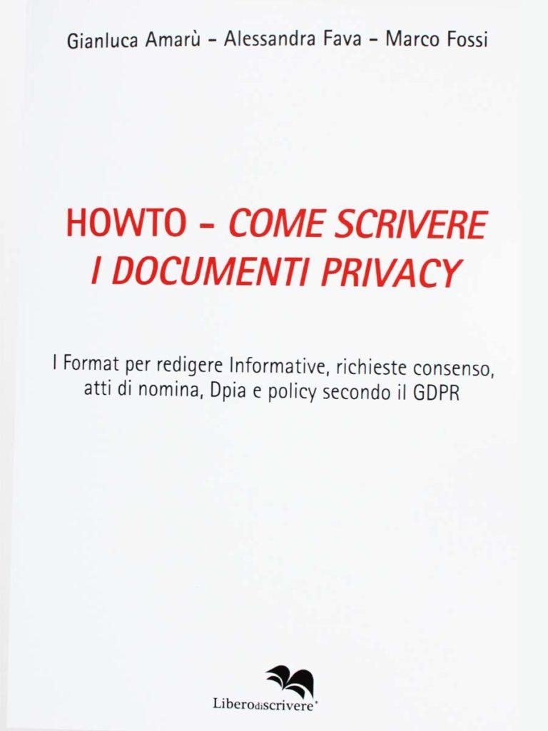 Howto - Come scrivere i Documenti Privacy